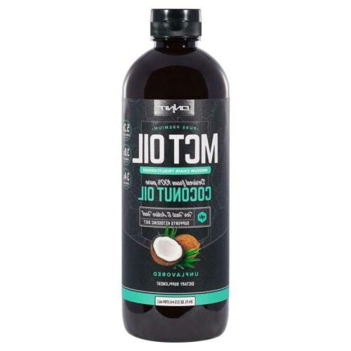 Onnit MCT Oil - Pure MCT Coconut Oil, Ketogenic Diet and Pal