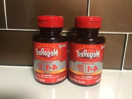 megared advanced 4in1 500mg concentrated omega 3