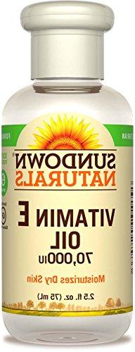 Sundown Naturals Vitamin E Oil 70,000 IU, 2.50 Ounce Bottle