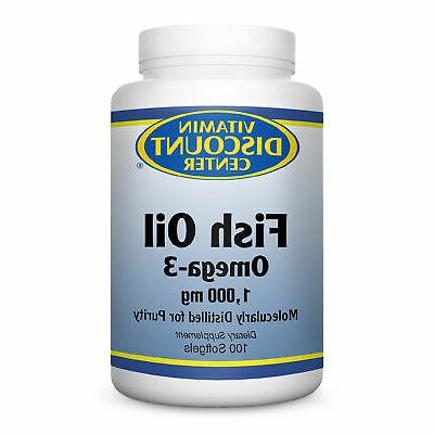 omega 3 fish oil 1000mg by 100