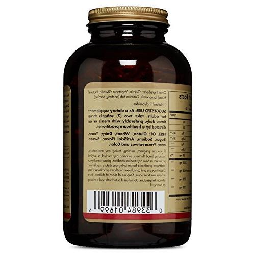 Solgar Oil 240 Softgels