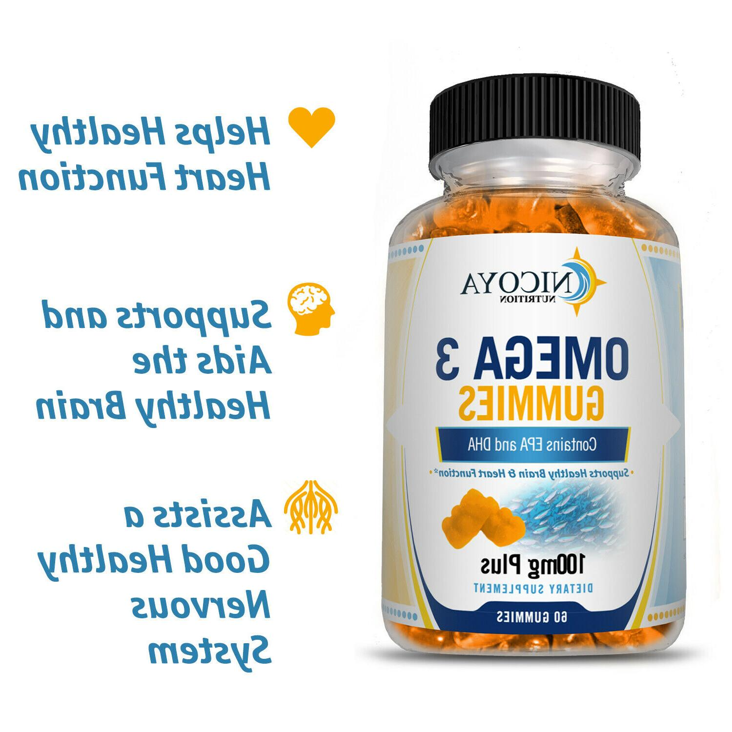 Omega-3 Fish Vitamin Supplement Healthy Joint & Heart
