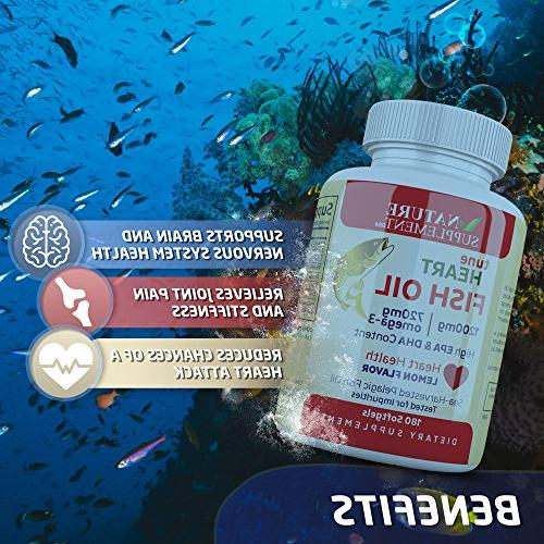 Fish 3 1200mg, Count, Flavored, Health by