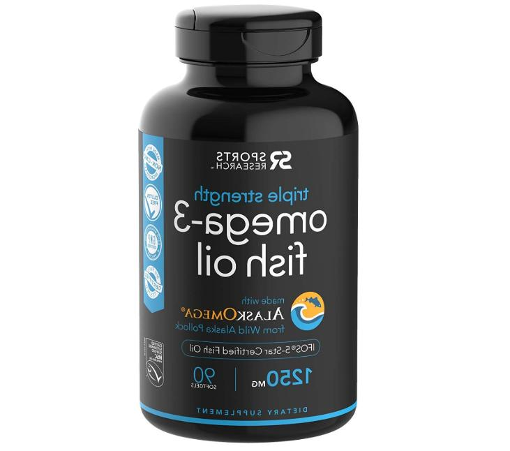 Omega-3 Wild Alaskan Fish Oil  with Triglyceride EPA & DHA |