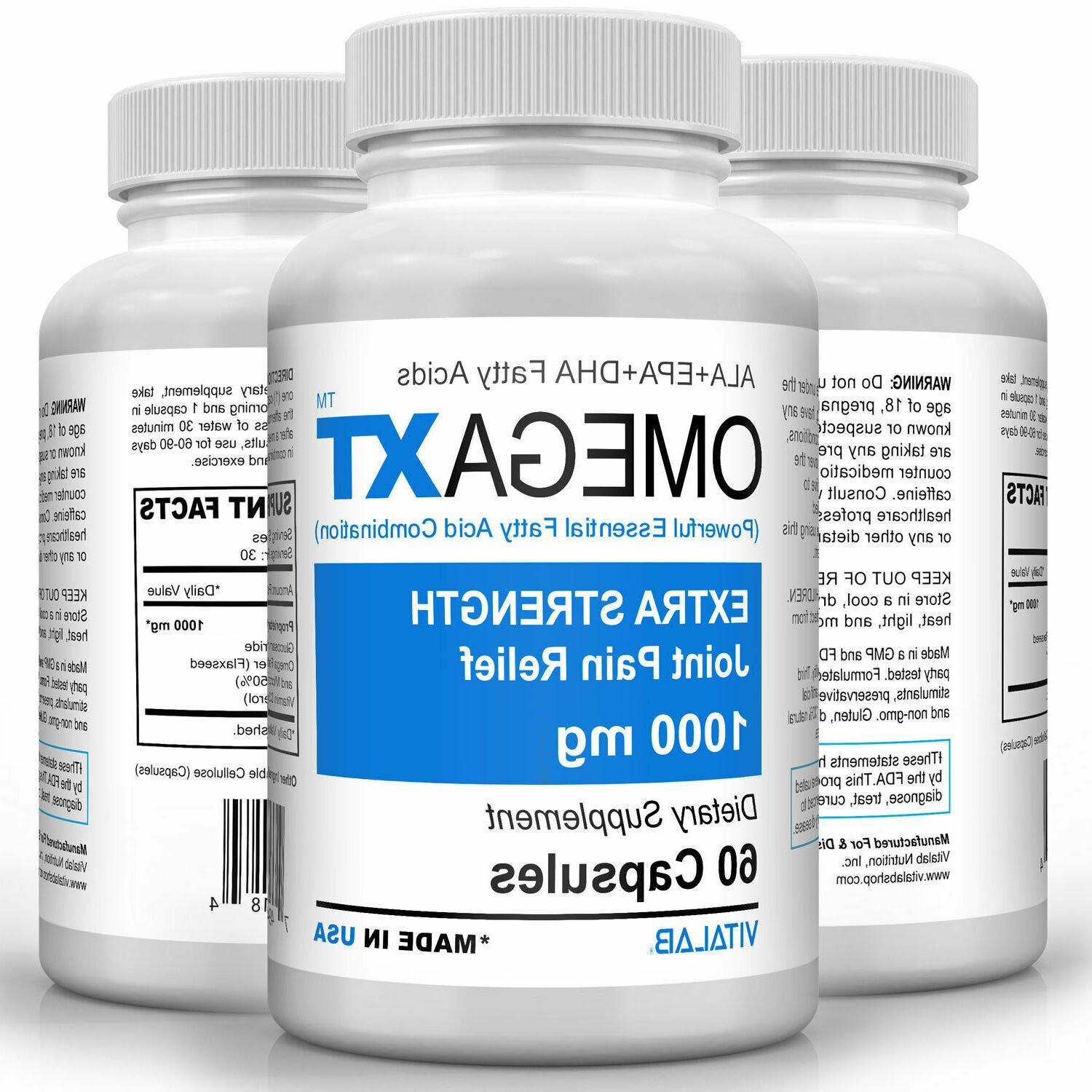 Official Omega XT Extra Strength Joint Omega-3 Joint Pain Relief