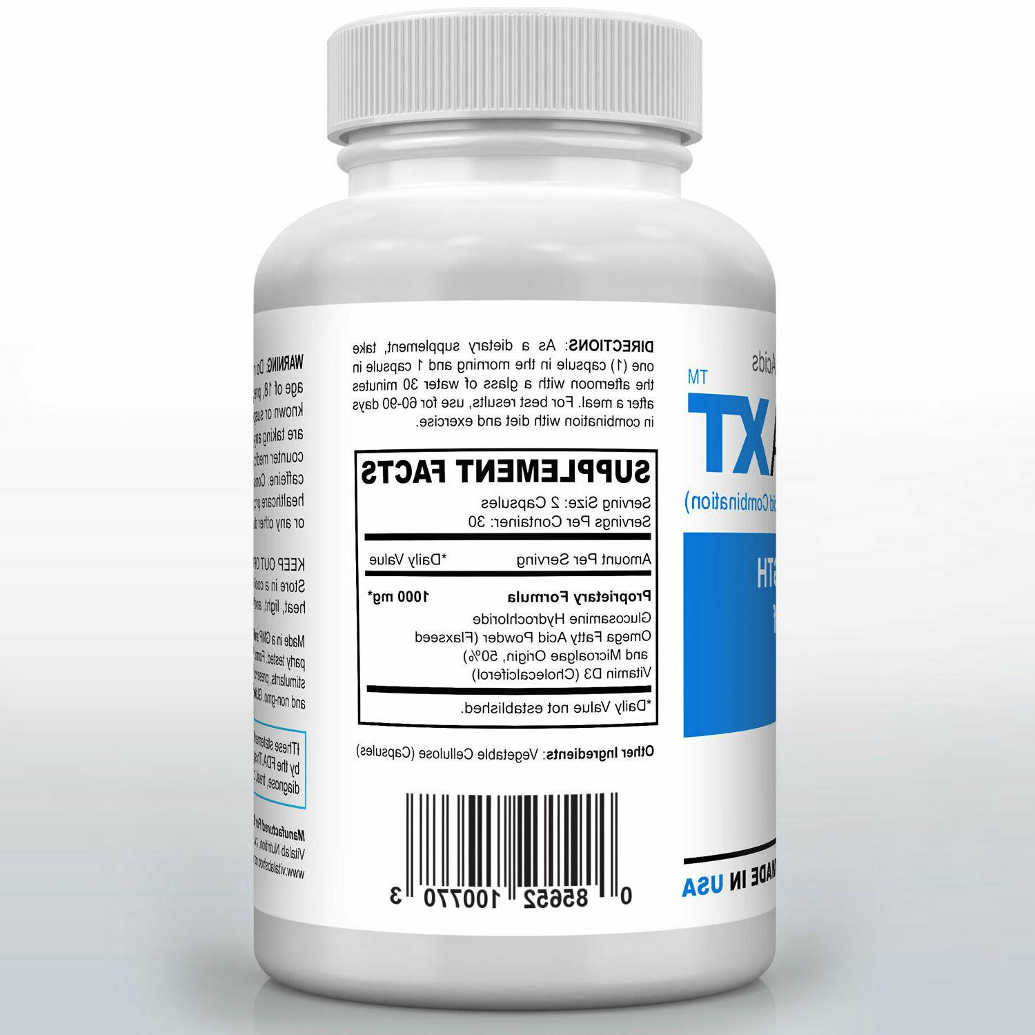 Official Omega XT Strength Support Omega-3 Joint Pain
