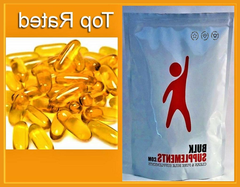 pure fish oil support heart health 1000mg