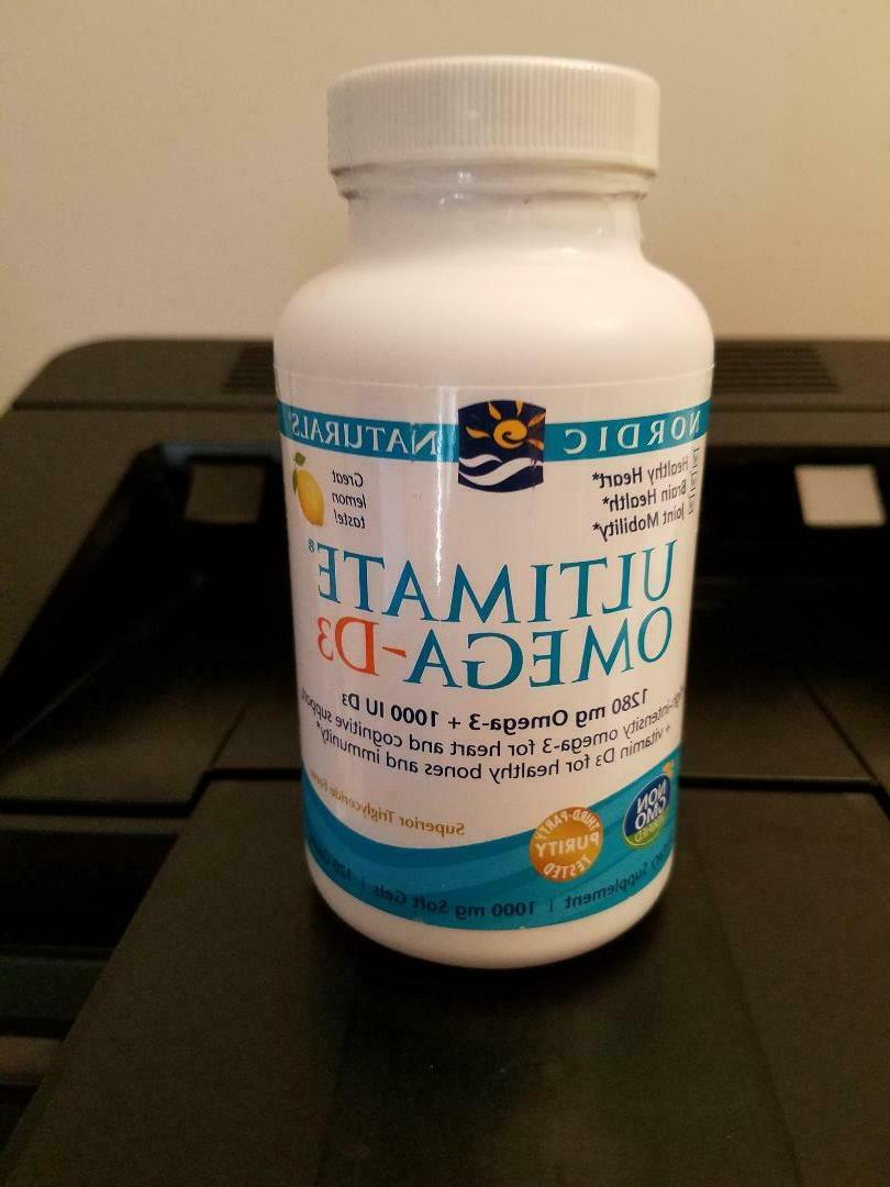 Nordic Naturals Ultimate Omega-D3? -- 120 Softgels
