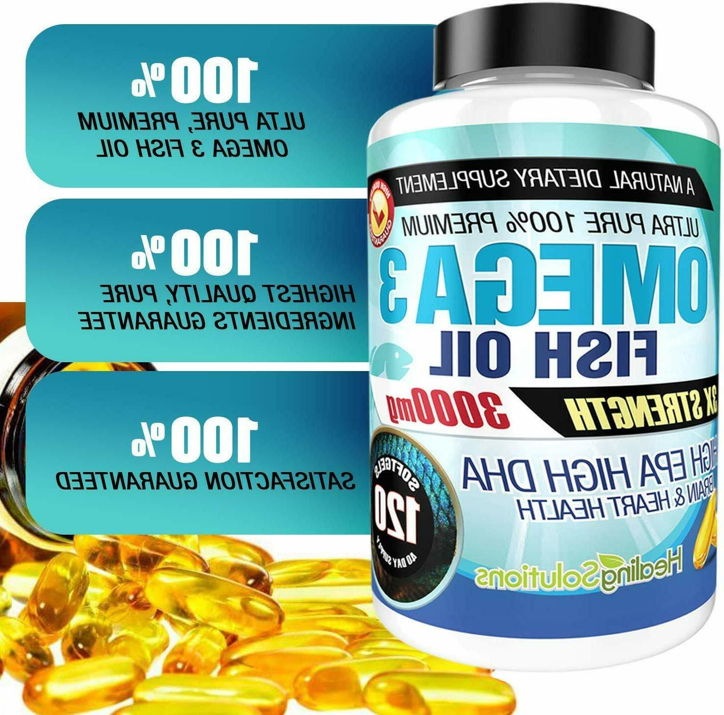 Ultra Fish Oil Small, Potent, -