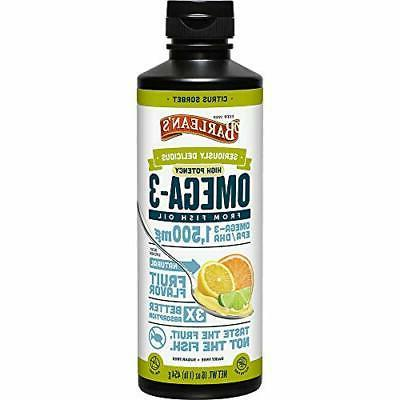 Enrich Naturals Omega 3 Fish Oil Lemon Flavor Softgels 1250m