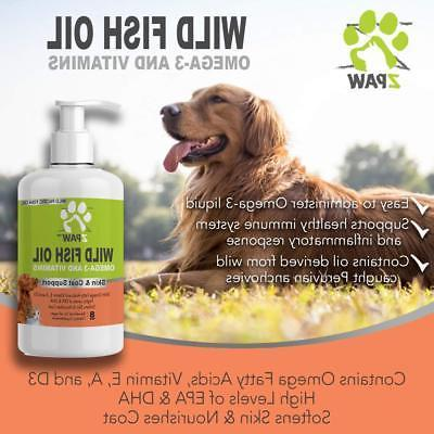 Wild Fish Oil 3 for Dogs and Skin Coat Support