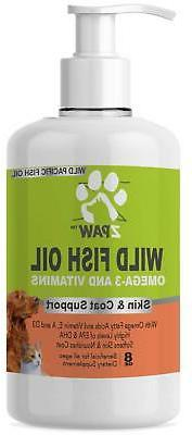 Wild Fish Oil Omega 3 and Vitamins for Dogs and Cats | Skin