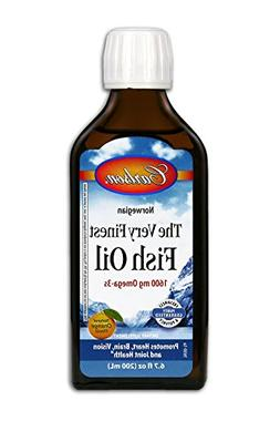Carlson Labs Very Finest Fish Oil Nutritional Supplement, Or