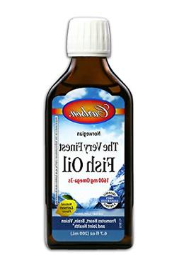 Carlson Labs Very Finest Fish Oil Nutritional Supplement, Le