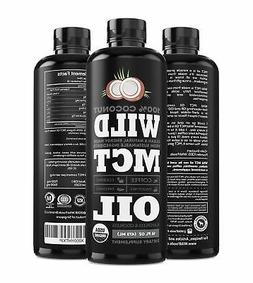 Wild MCT Oil with Lauric Acid Made From 100% Sustainable Coc