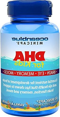 Ocean Blue Minicaps | DHA Fish Oil for Kids | Free from Merc