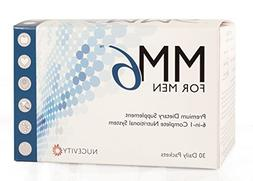 MM6 FOR MEN - Daily Multivitamin Supplement with Omega-3 Fis