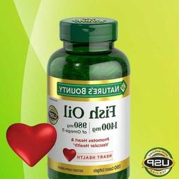 nature s bounty fish oil 1400 mg
