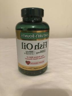 nature s bounty omega 3 and 6