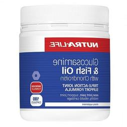 Nutra-Life Glucosamine & Fish Oil with Chondroitin Capsules