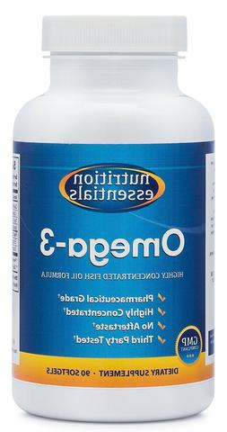 Nutrition Essentials Omega-3 Fish Oil Supplement