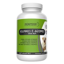 Omega 3 for Dogs by Animagix, 100% Natural Fish Oil for Dogs