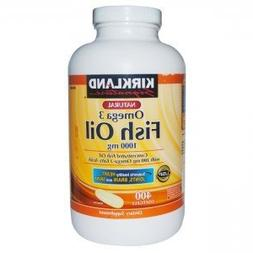 Kirkland Signature Omega-3 Fish Oil Concentrate, 1000 mg Fis