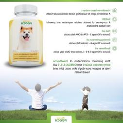 Omega 3 Fish Oil for Dogs - Omega 3,6,9 Fatty Acid Supplemen