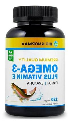 Bio KnopMax Omega 3 Fish Oil Plus Vitamin E Hight quality cu