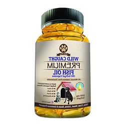 Omega 3 Fish Oil Supplements Wild Caught Fish Oil for Dogs E