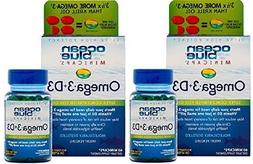 Ocean Blue Professional Omega 3 MiniCaps with Vitamin D3 | F