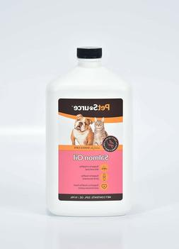 Omega 3 Salmon Fish Oil for Dogs and Cats Shiny Coat Reduce