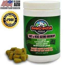 Active Chews Pure Omega Fish Oil for Dogs All Natural Omega