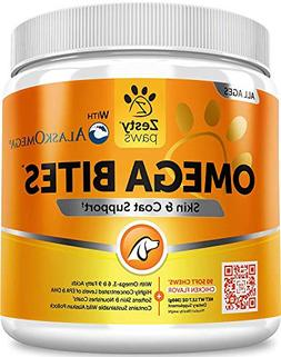 Omega 3 Chew Treats for Dogs - All Natural Fish Oil Pet Food