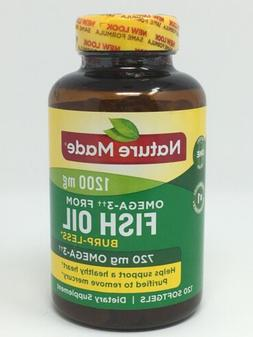 Nature Made One Per Day Burpless Fish Oil 1200 Mg W. Omega 3