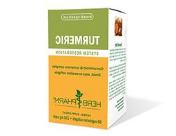 Herb Pharm Organic Turmeric Root Extract with Black Pepper f