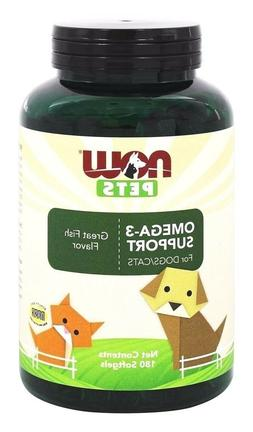 Pet Omega-3 Support Now Foods 180 Softgel