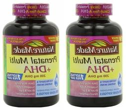 Nature Made Prenatal Multi + Dha, 200mg 150 Softgels