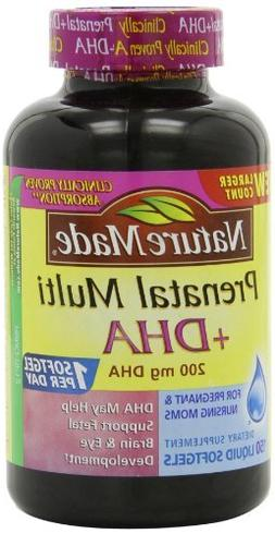 Nature Made Prenatal Multi + Dha, 200mg