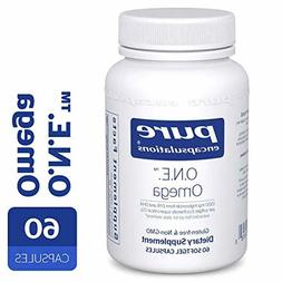 Pure Encapsulations - O.N.E. Omega - Fish Oil Capsules to Su