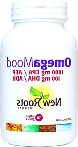 New Roots Herbal Omega Mood EPA 1000 MG, 30 Count