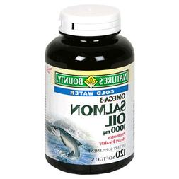 Nature's Bounty Salmon Oil, 1000mg, 120 Softgels