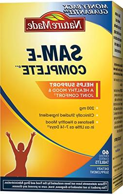 Nature Made SAM-e Complete 200 mg. Tablet  Value Size 60 ct