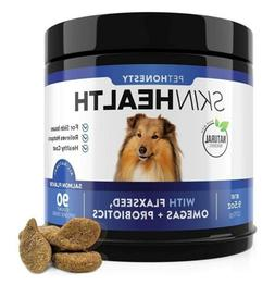 PetHonesty SkinHealth Supplement Fish Oil for Dogs with Omeg