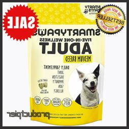 SmartyPaws Multifunctional Dog Supplement Chew: Fish Oil Ome