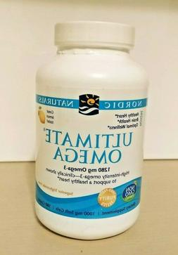 Nordic Naturals Ultimate Omega 1280mg Fish Oil - 180 Lemon S