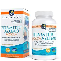 Nordic Naturals - Ultimate Omega +CoQ10, Support for the Hea