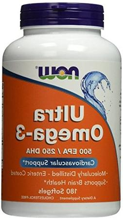 Now Foods Ultra Omega 3, Fish Oil Soft-gels, ValueItems Pack