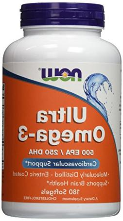 Now Foods Ultra Omega 3, Fish Oil Soft-gels, 540-Count (Now-