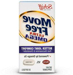 Move Free Ultra Omega 30 Ct. Exp 01/2021. Schiff Brand. .